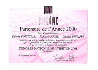 6 ° PAGE BOOK Diplome GARE TGV